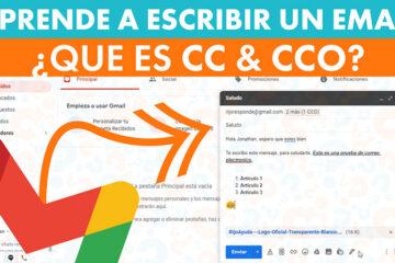 Como escribir un correo en Gmail y enviar con CC y CCO - Rijo Ayuda